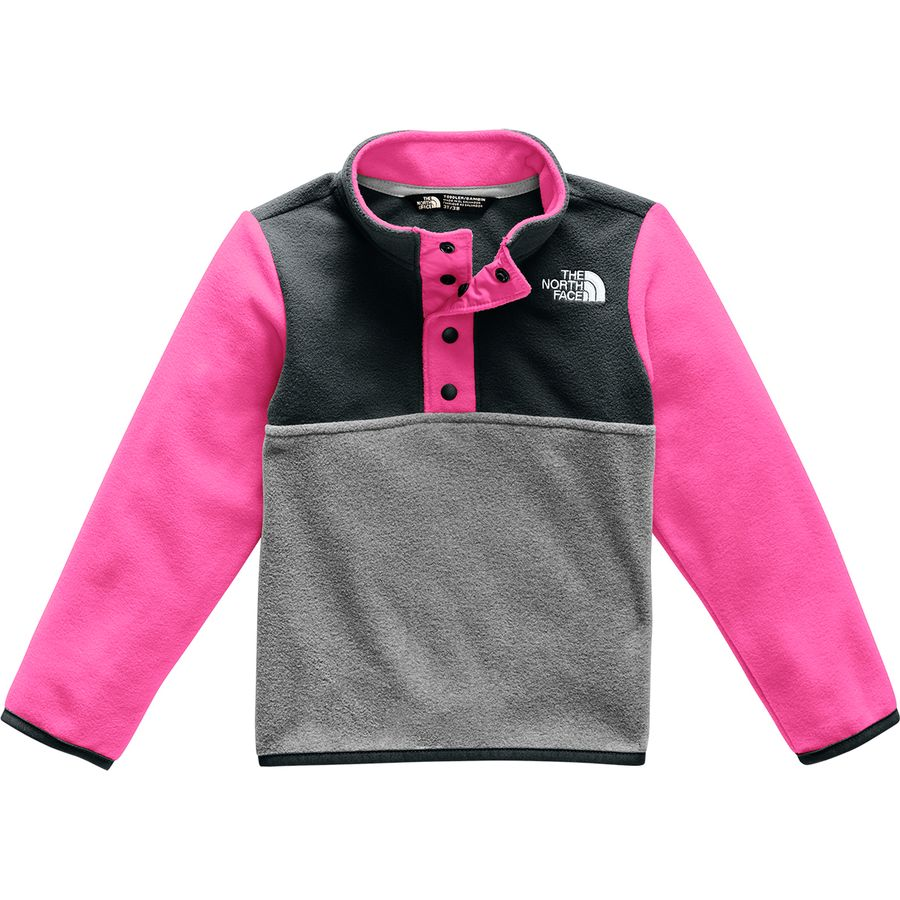 5c28919ff The North Face Glacier 1/4-Snap Fleece Jacket - Toddler Girls'