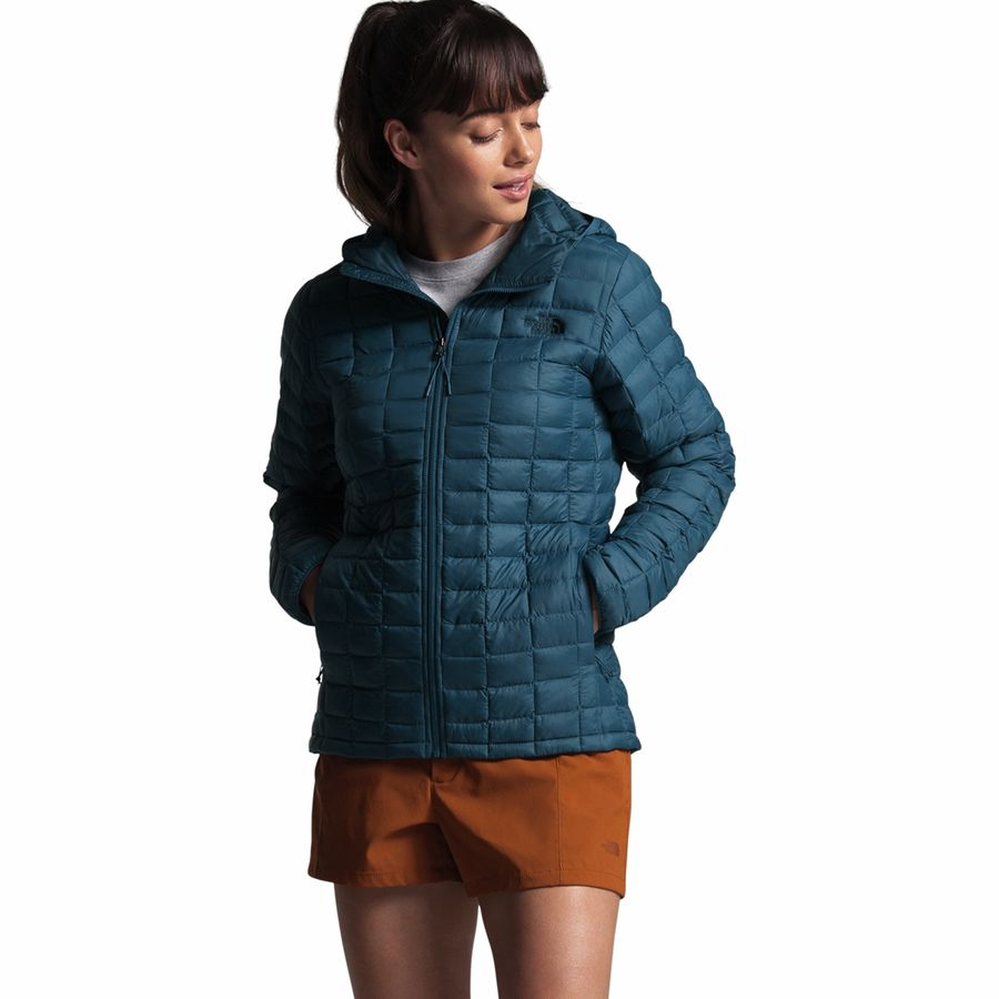 The North Face Thermoball Eco Hooded Insulated Jacket Women's