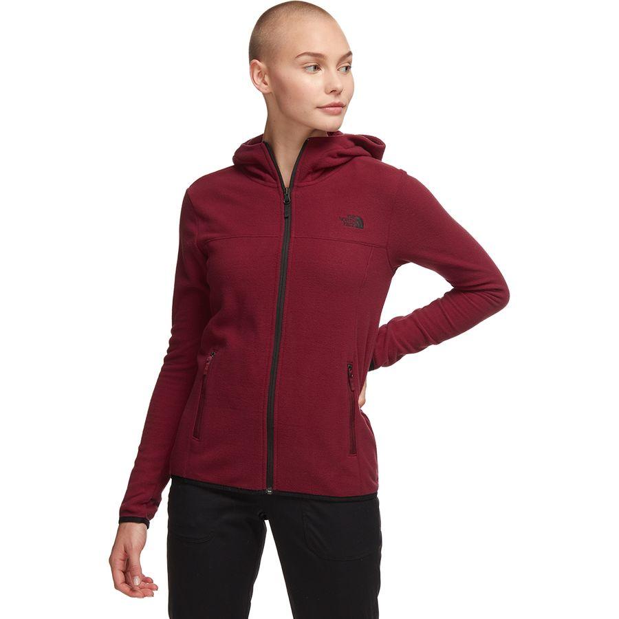 2c4362e8a The North Face TKA Glacier Full-Zip Hooded Fleece Jacket - Women's