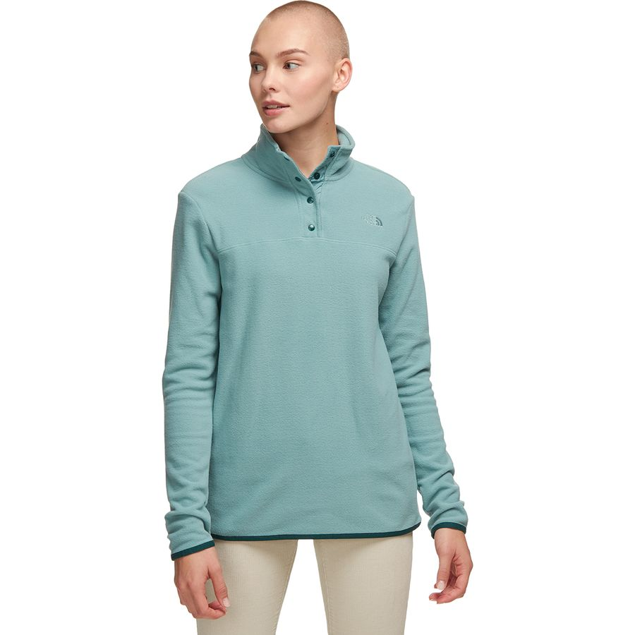 The North Face Tka Glacier Snap Neck Fleece Pullover