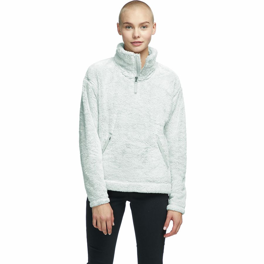 The North Face - Furry Fleece Pullover - Women's - Tin Grey