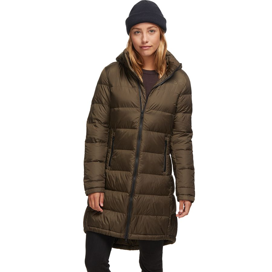 NEW The North Face Womens Metropolis Parka 2 II TNF Black Size LARGE