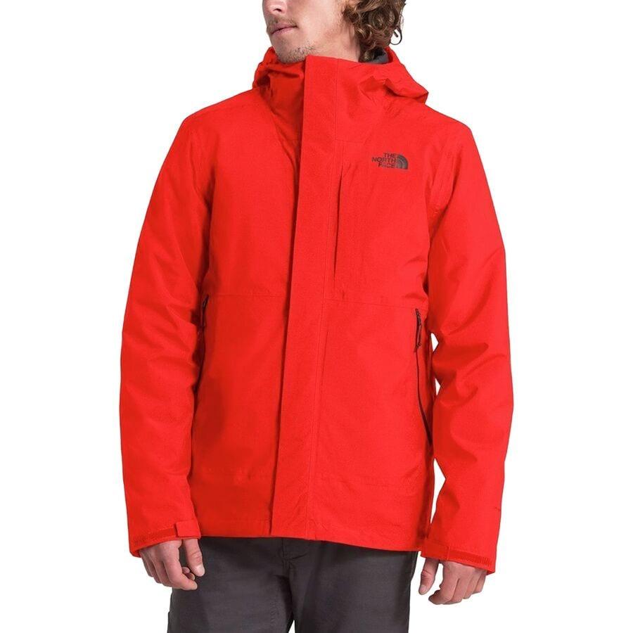 The North Face Mens Carto Triclimate Jacket Asphalt Grey Size Medium