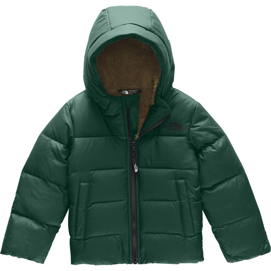 942993e25 The North Face Moondoggy Hooded Down Jacket - Toddler Boys'