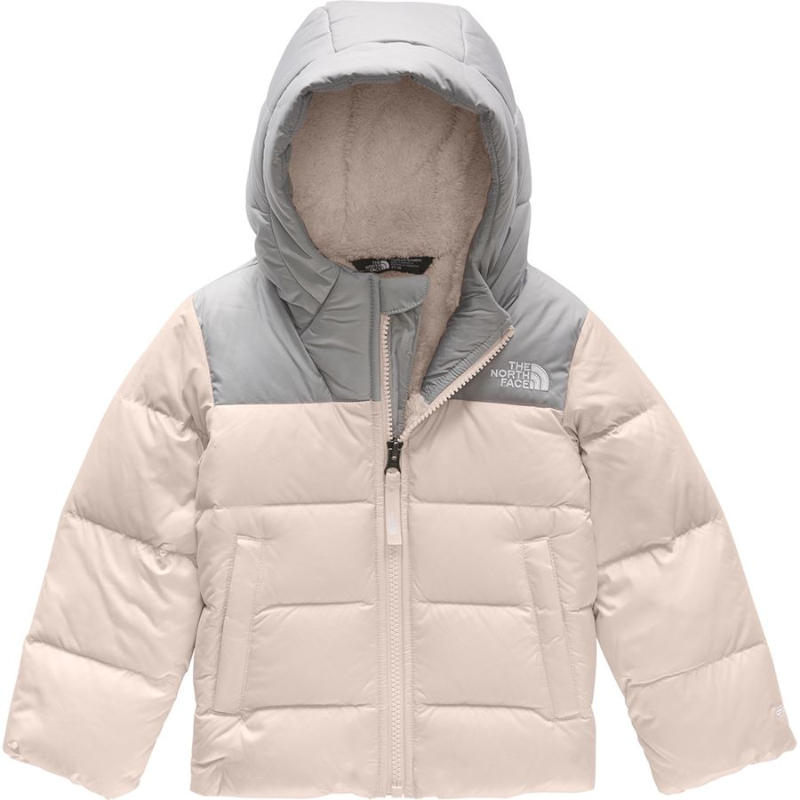 740a57c86 The North Face Moondoggy Hooded Down Jacket - Toddler Girls'