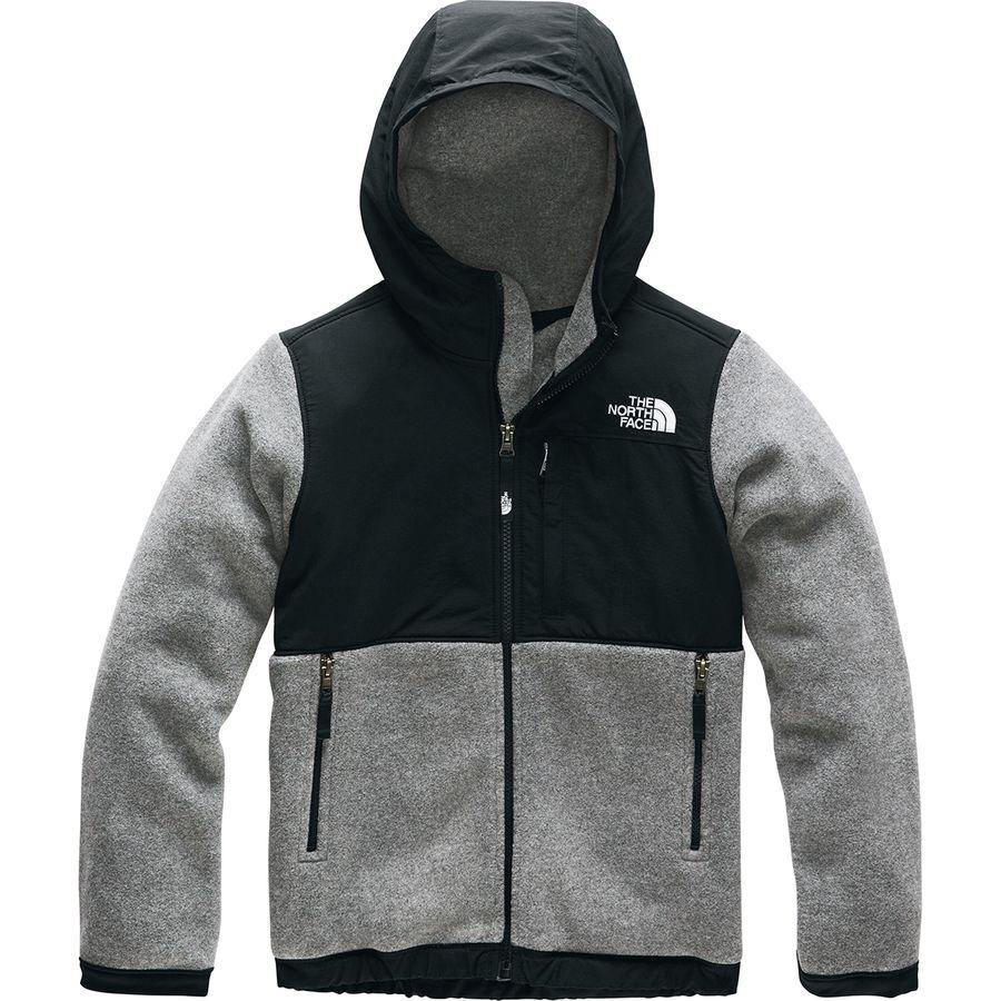 a96d3fc0d The North Face Denali Hooded Fleece Jacket - Boys'