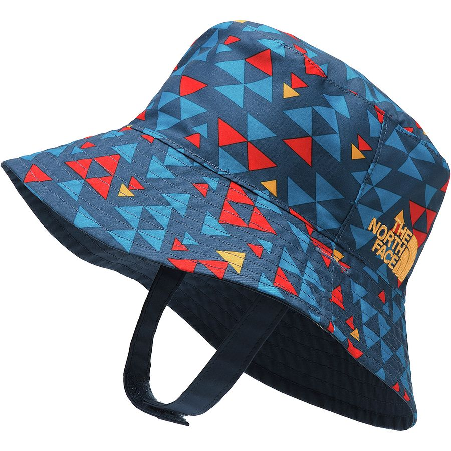 The North Face - Sun Bucket Hat - Infants  - Shady Blue Mini Aztec Print c5a70280f37