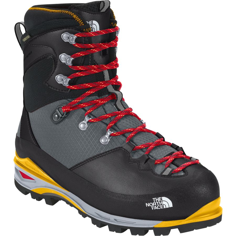 8a666f23364 The North Face - Verto S6K Glacier GTX Boot - Tnf Black Tnf Yellow