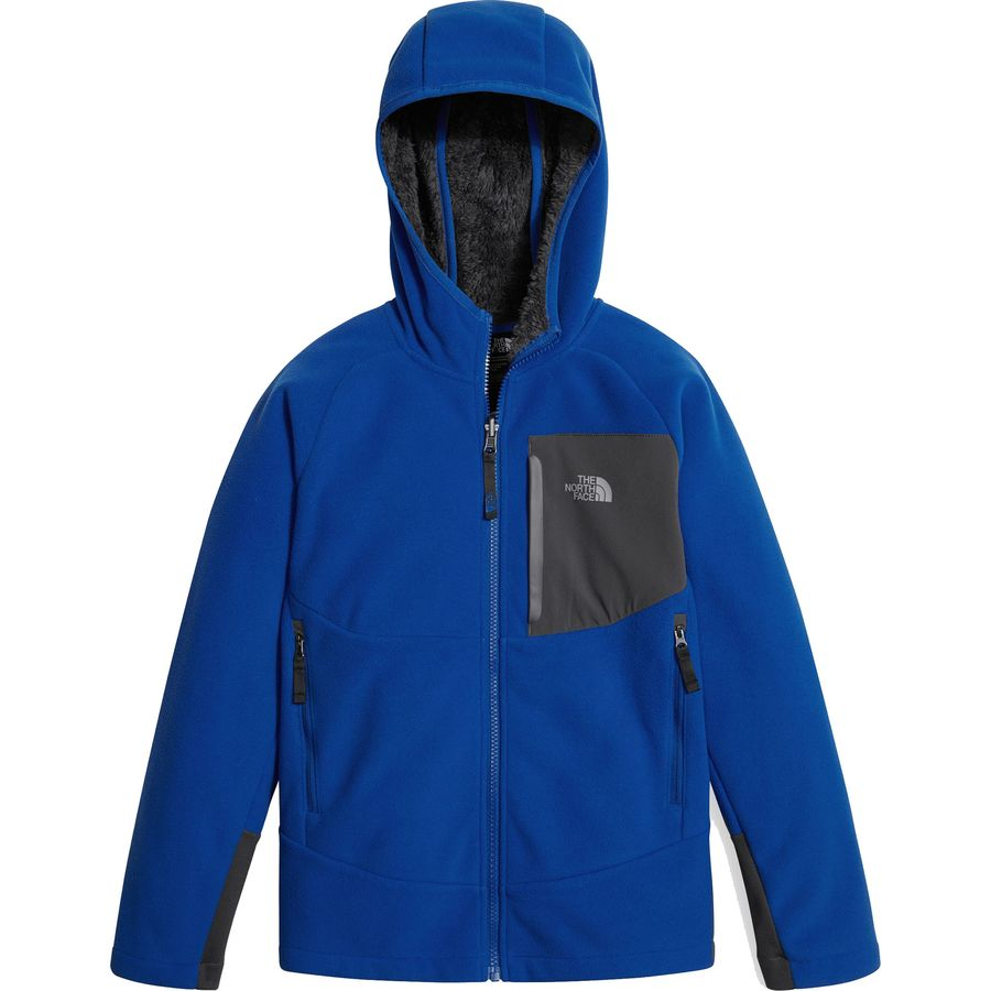 2ed009eb7 The North Face Chimborazo Fleece Hooded Jacket - Boys'