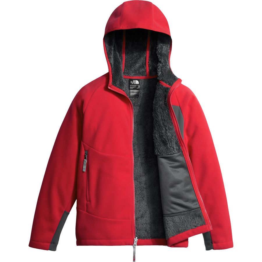 cc77f0b3e1 The North Face Chimborazo Fleece Hooded Jacket - Boys
