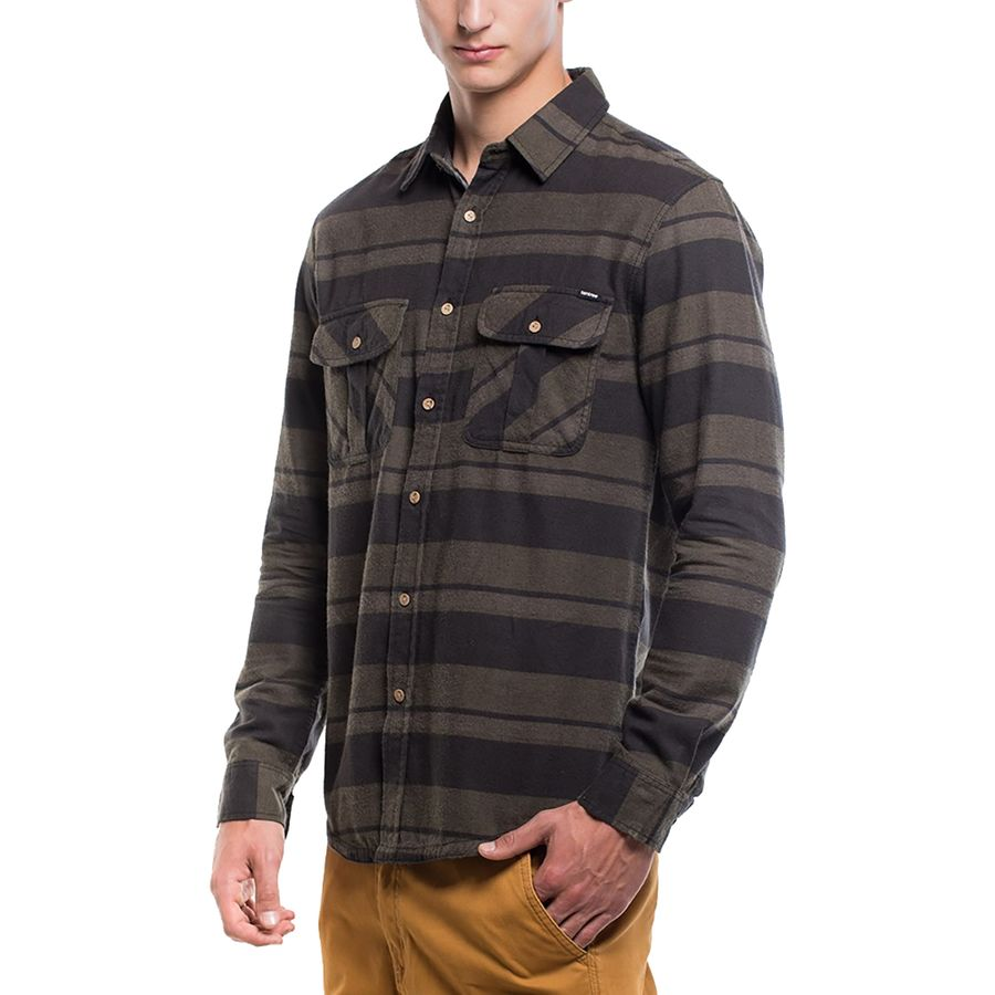 Tentree Arthur Long-Sleeve Flannel Shirt - Mens