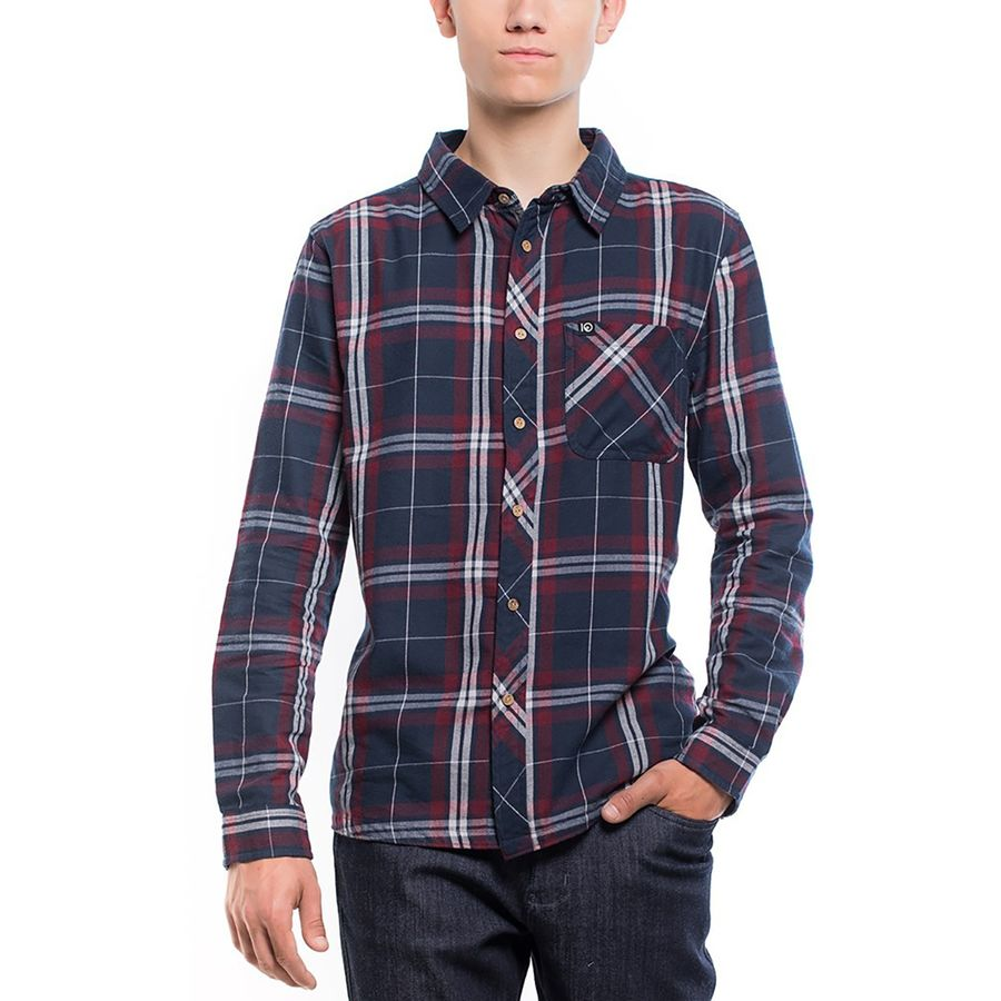 Tentree Fergus Flannel Shirt - Mens
