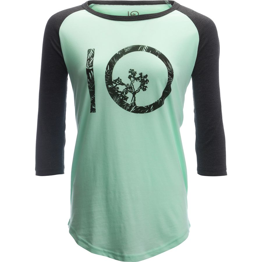 Tentree Logo Shirt - 3/4-Sleeve - Womens