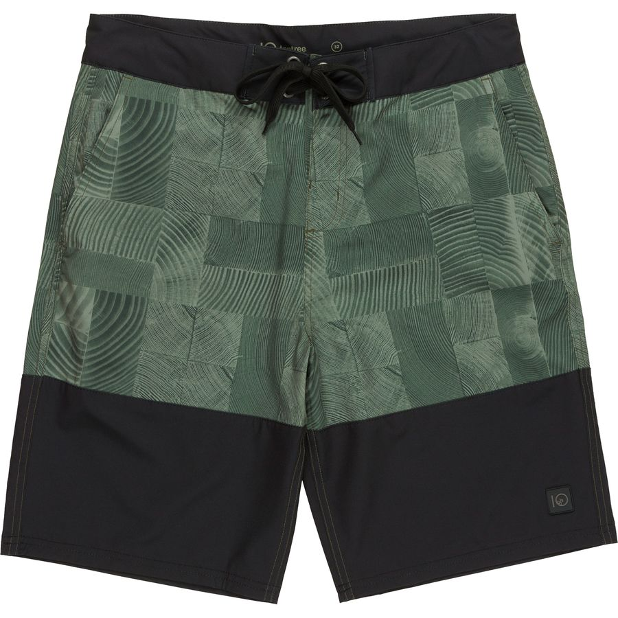 Tentree Woodblock Board Short - Mens