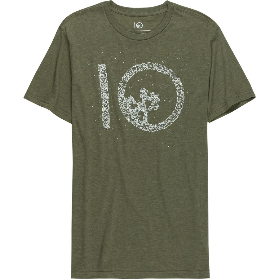 Tentree Celestial Logo Short-Sleeve T-Shirt - Mens