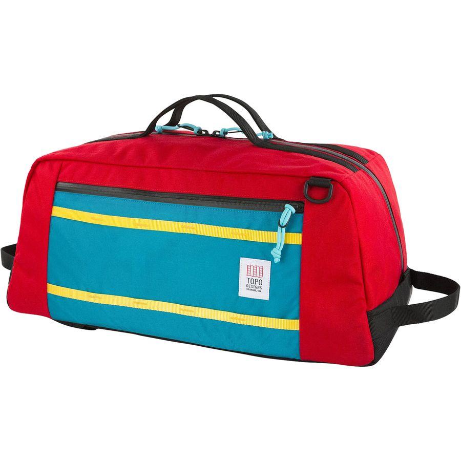 e5e5f0bbb0c1 Topo Designs - Mountain 40L Duffel - Red