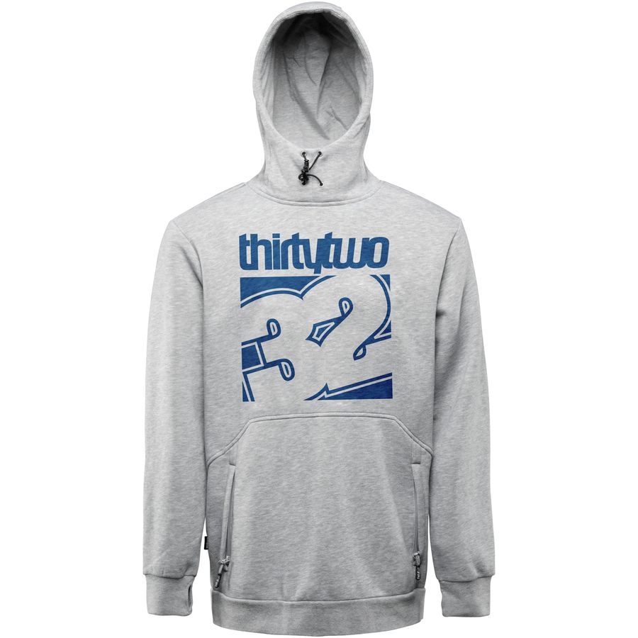 ThirtyTwo Stamped Fleece Pullover Hoodie - Mens