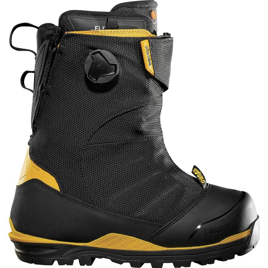 ThirtyTwo - Jones MTB Snowboard Boot - Men s - Black Yellow ae00a25b9