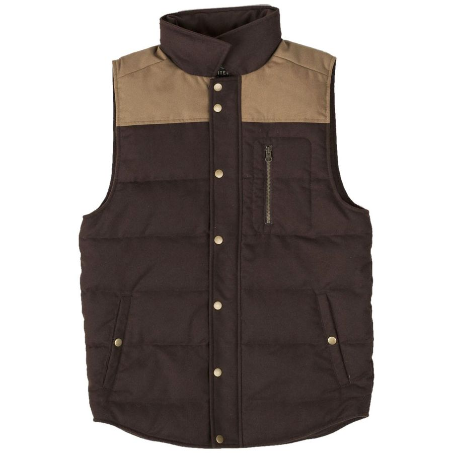 United by Blue Drummond Colorblock Wool Vest - Mens