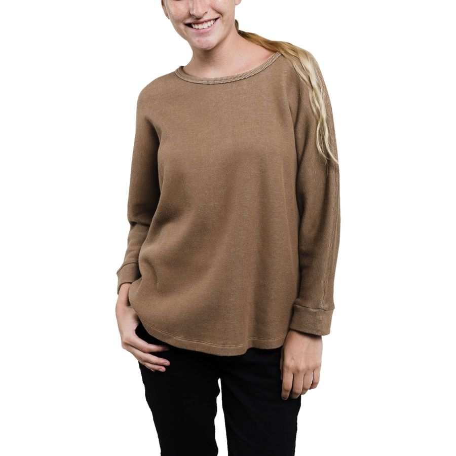 United by Blue French Rib Swing Sweater - Womens