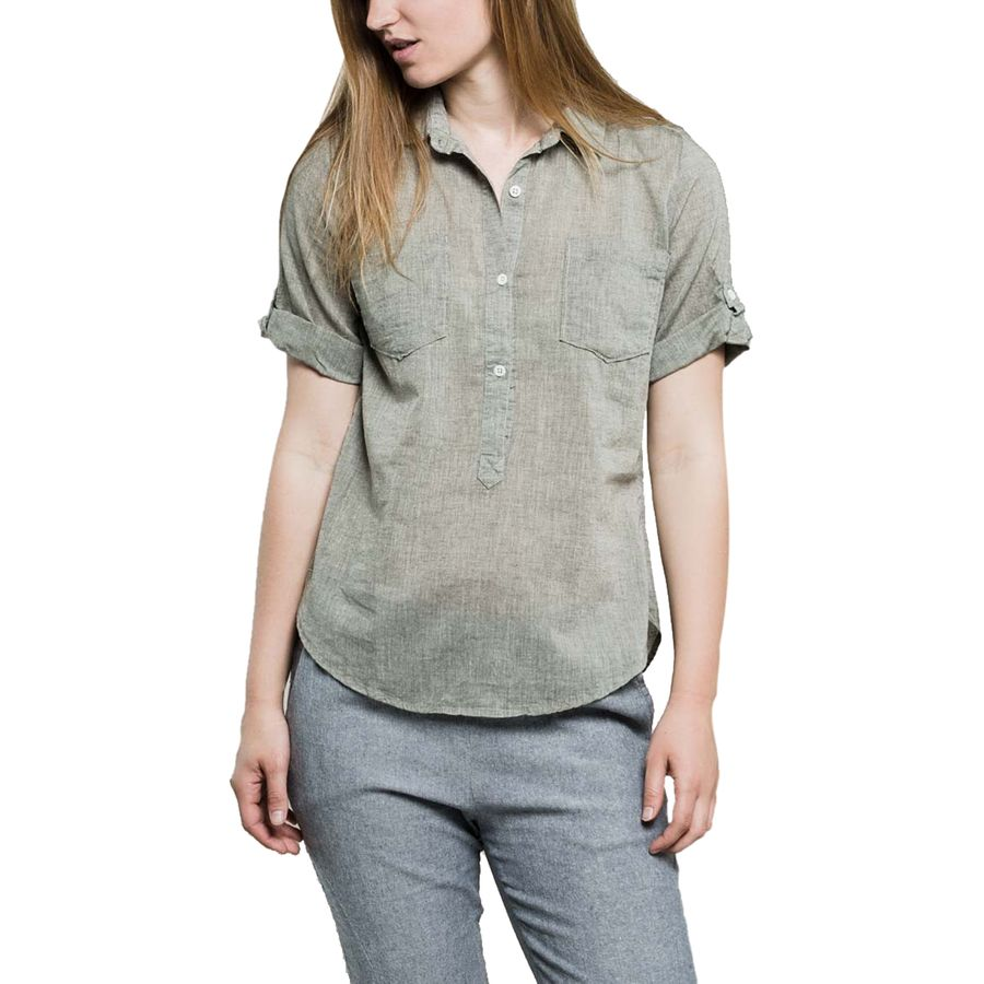United by Blue Torrey Popover Shirt - Womens