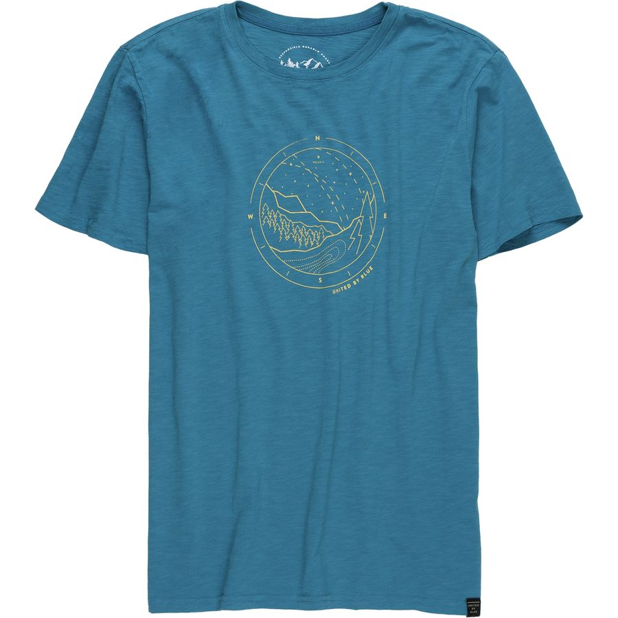 United By Blue Polaris T Shirt Short Sleeve Men 39 S