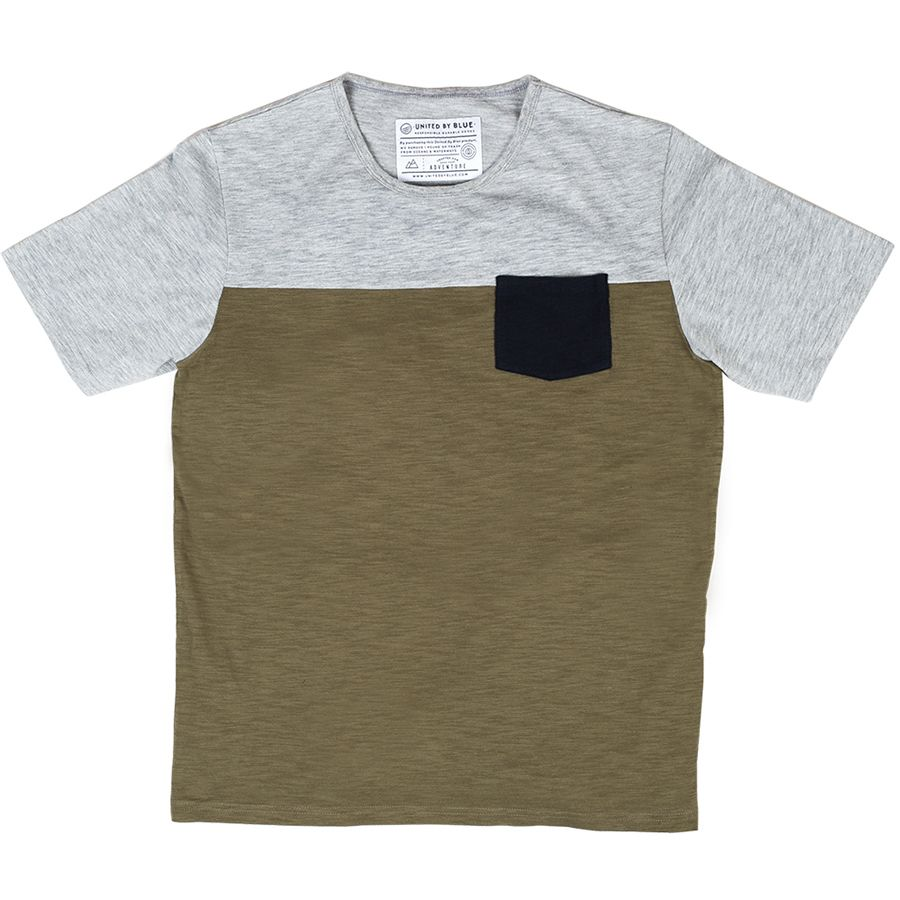 United by Blue Colorblock Crew - Mens