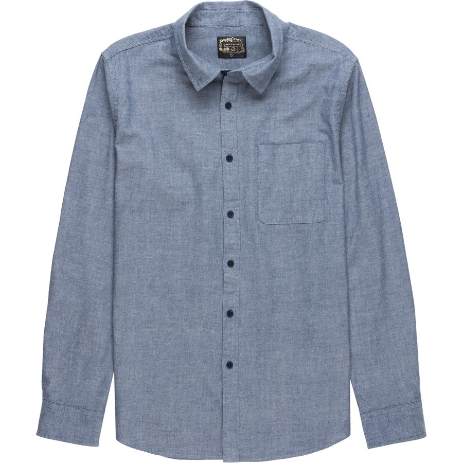 United by Blue Bryce Chambray Shirt - Long-Sleeve - Mens