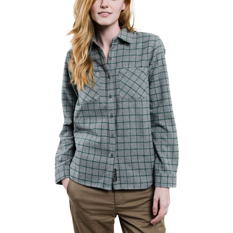 United by Blue Whyte Wool Plaid Shirt - Womens