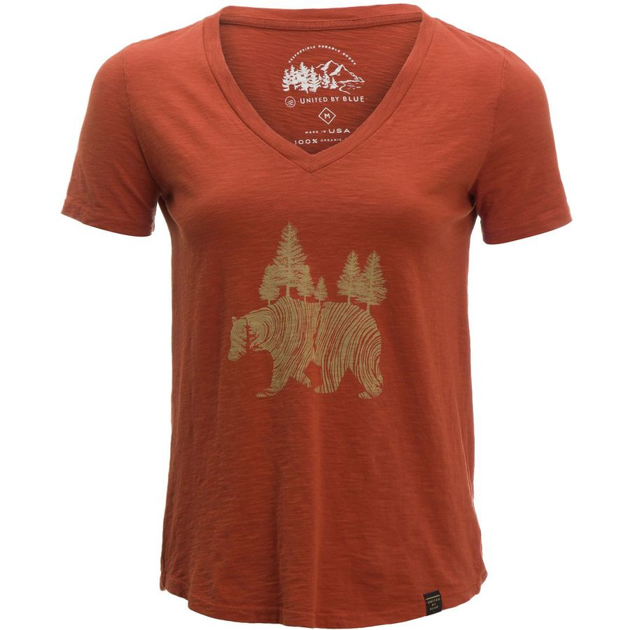 United By Blue Pine Bear T Shirt Women 39 S Up To 70 Off
