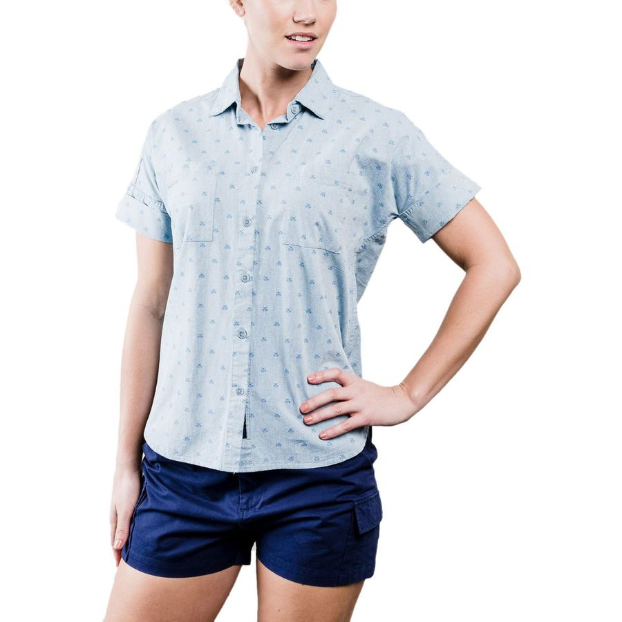 United by Blue Honeycomb Shirt - Short-Sleeve - Womens