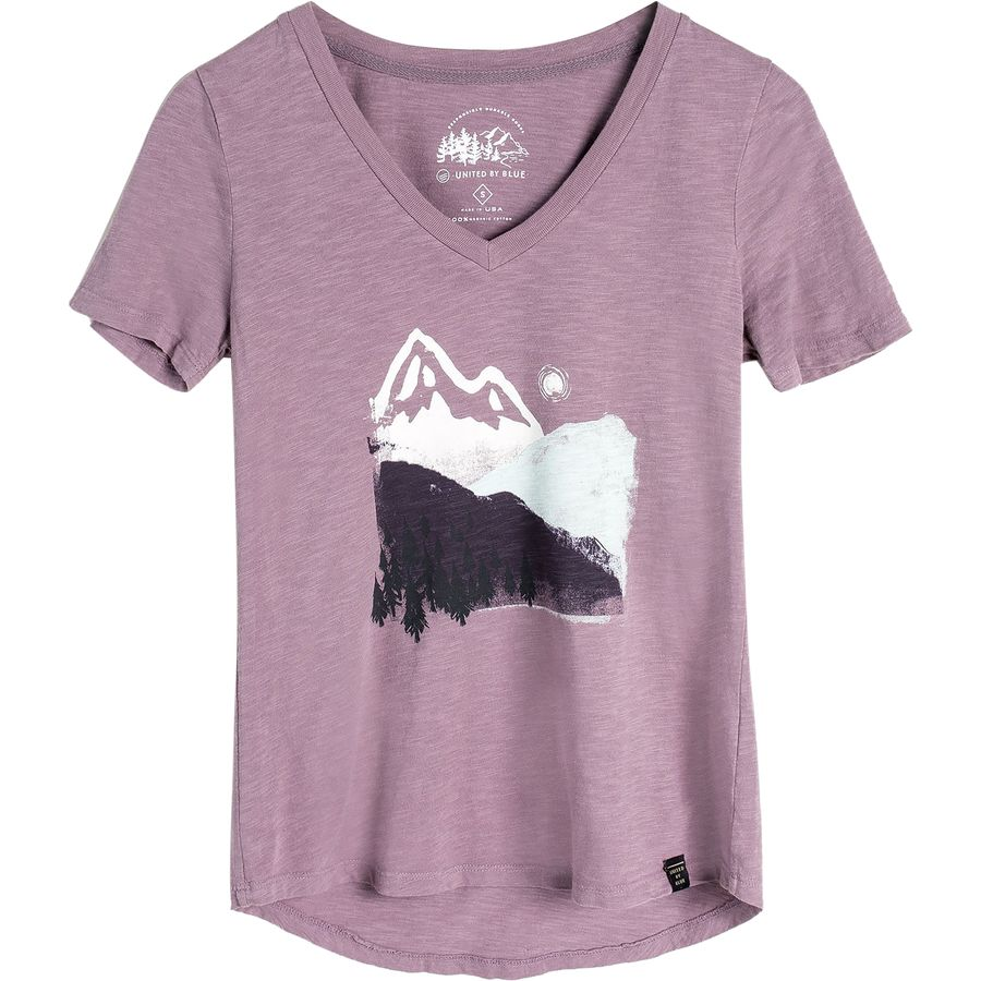 United by Blue Mountain Ink T-Shirt - Womens