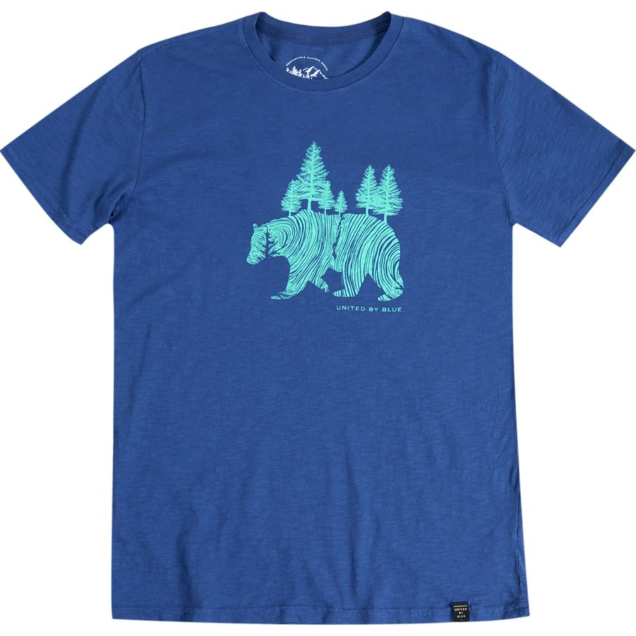 United by Blue Pine Bear T-Shirt - Mens