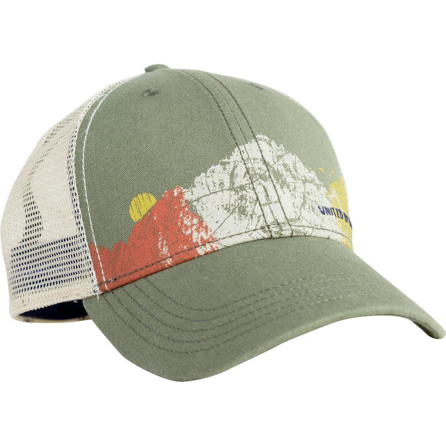 f27491d4c00 United by Blue - Climb Trucker Hat - Alpine Green