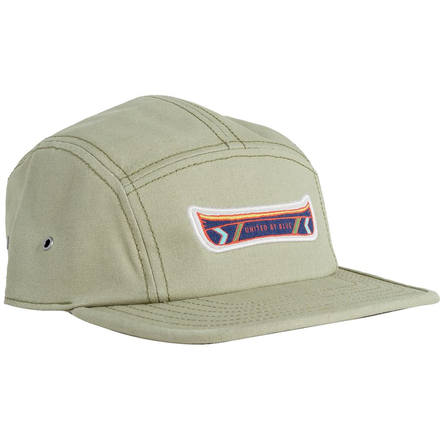 35d91c1bc3b15 United by Blue - Canoe 5 Panel Hat - Olive