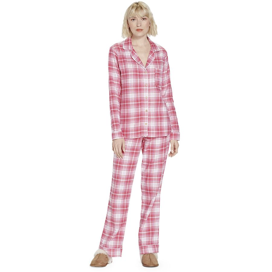 Ugg Raven Flannel Set Womens Backcountrycom