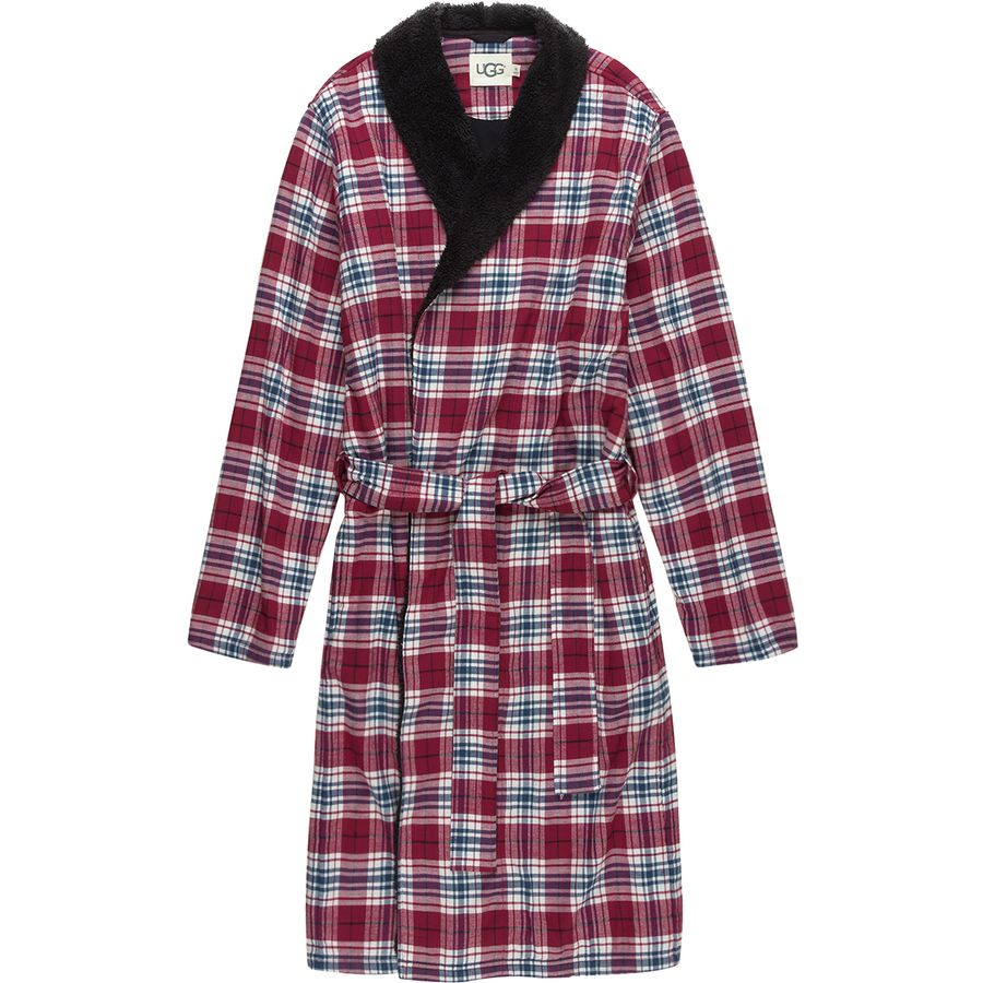 55cf92e3d1 UGG - Kalib Plaid Robe - Men s - Chili Pepper Plaid