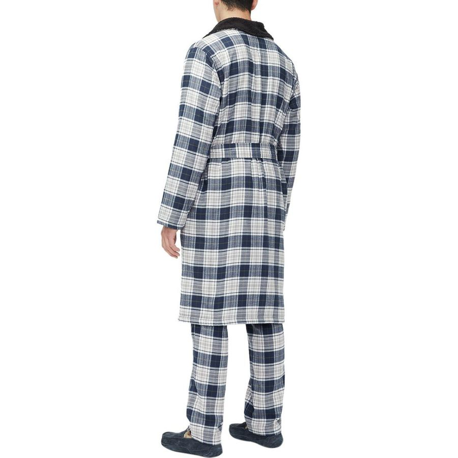 86b5c08333 UGG Kalib Plaid Robe - Men s