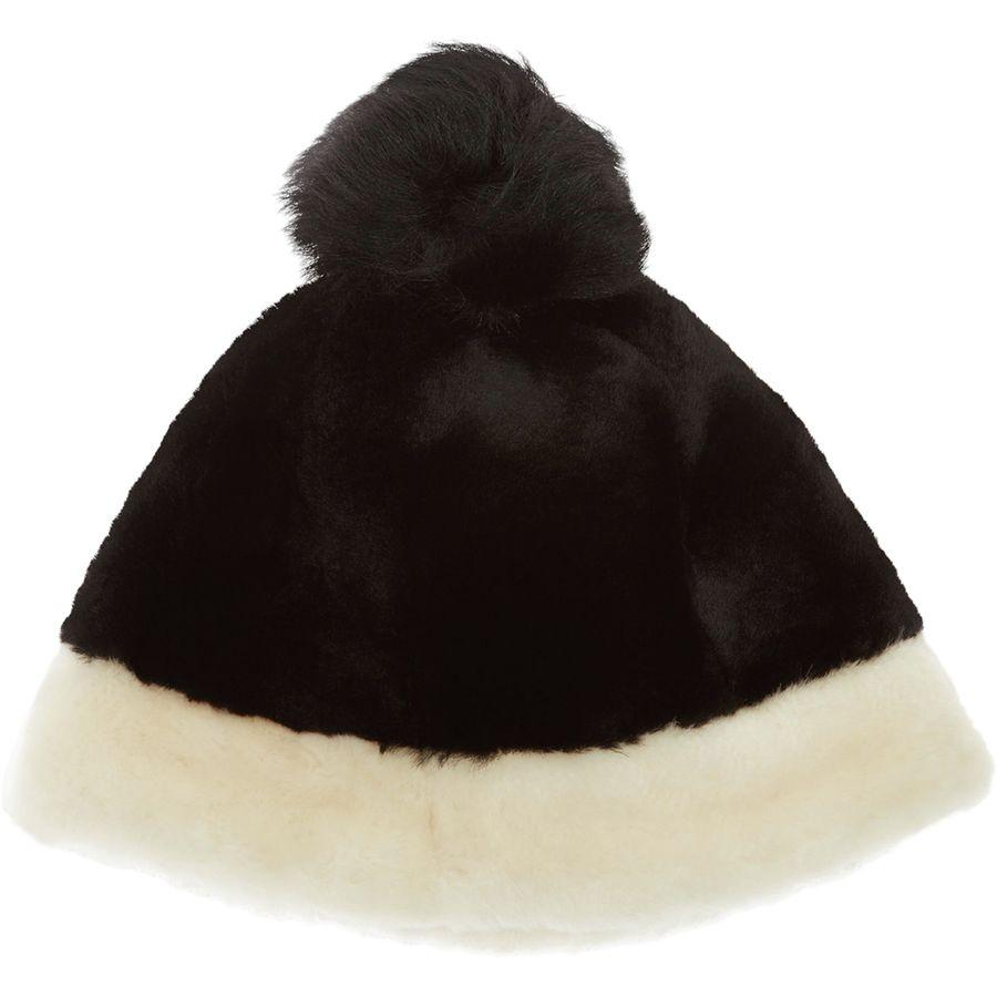 bd75d4e1afa UGG - Color Blocked Sheepskin Beanie - Women s - Black