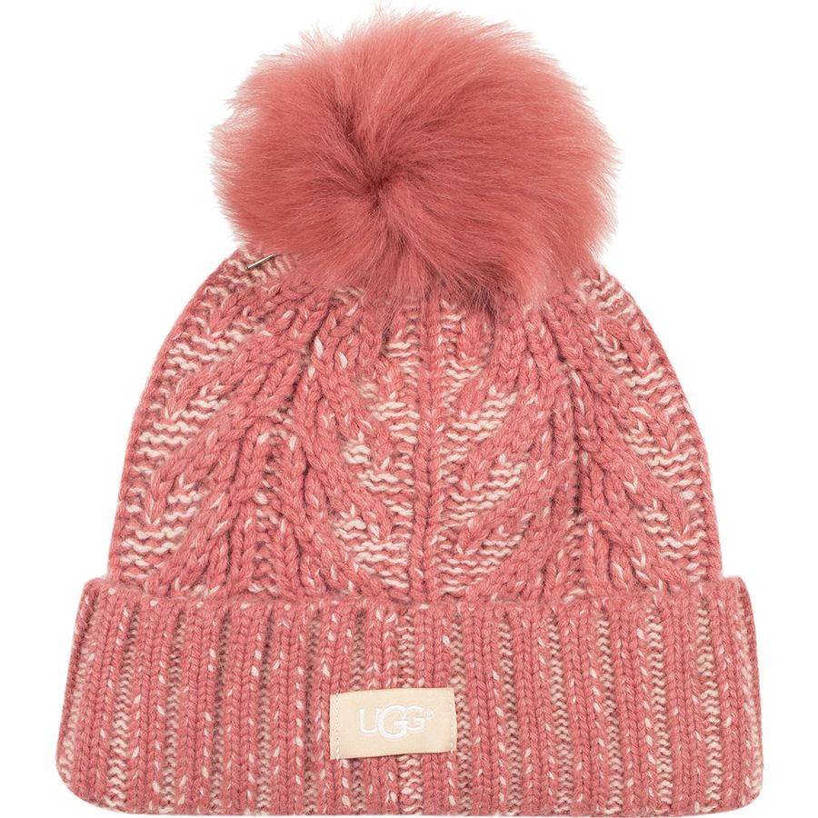 c86af9c0cd749 UGG - Cuff Hat - Women s - Lantana Pink Multi Plaited