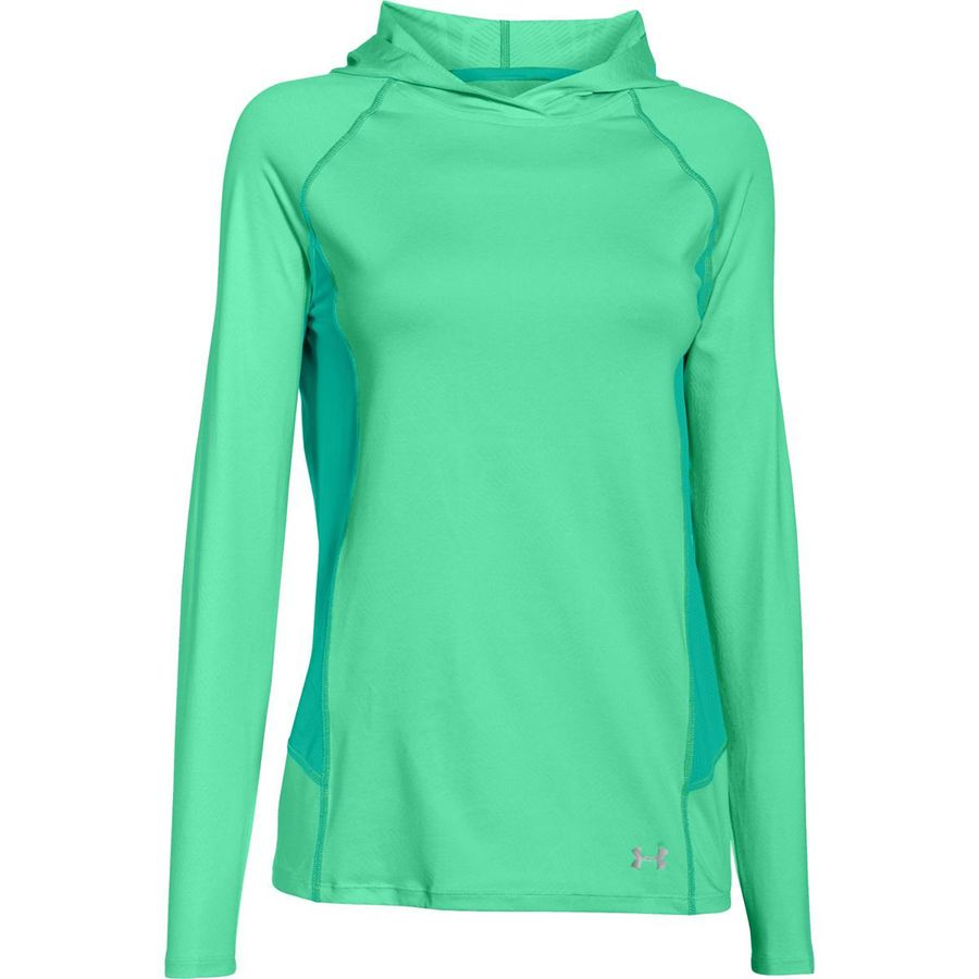 Under Armour Coolswitch Trail Hooded Shirt Women 39 S