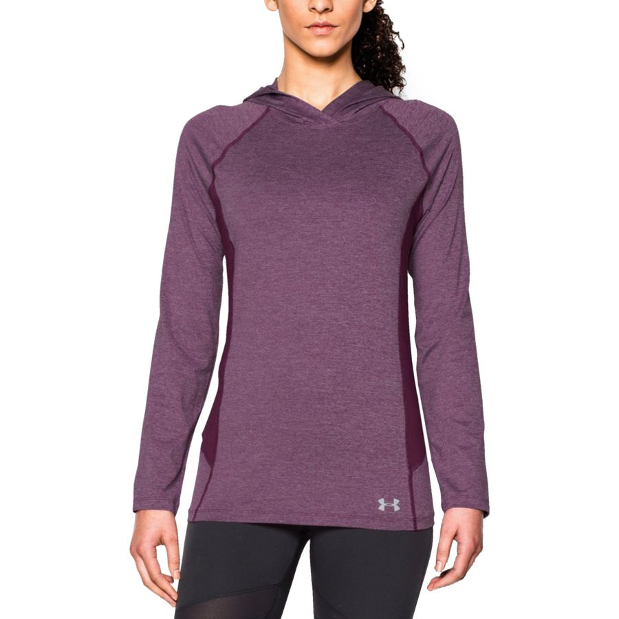 Under Armour Coolswitch Trail Hooded Shirt - Womens