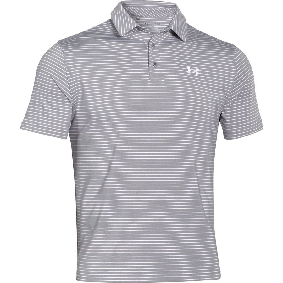 Under armour playoff polo shirt men 39 s for Under armor polo shirts