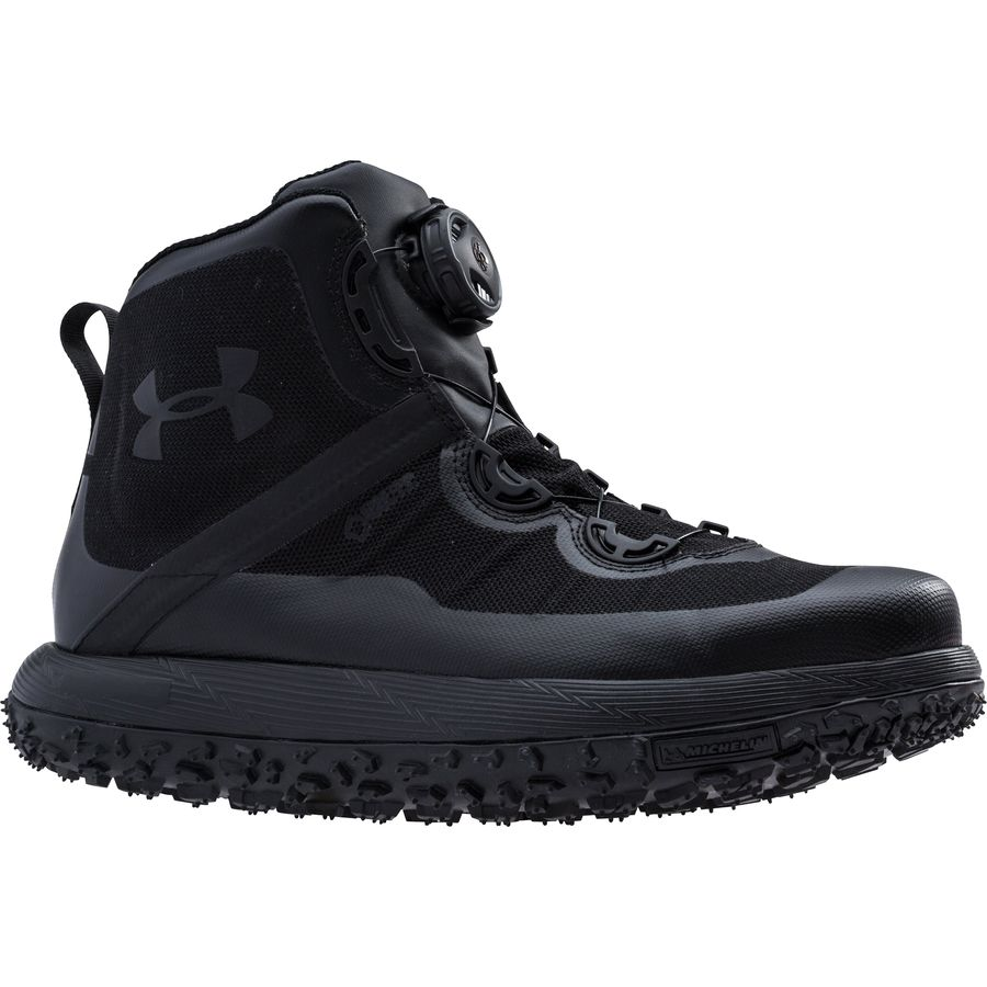 under armour fat tire boots. under armour - fat tire gtx hiking boot men\u0027s black/black/black boots r