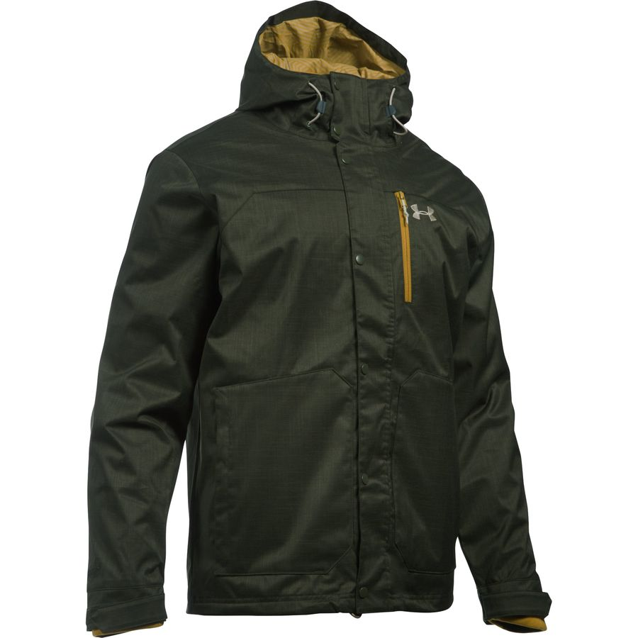 Under Armour Coldgear Infrared Porter 3-in-1 Hooded Jacket - Mens