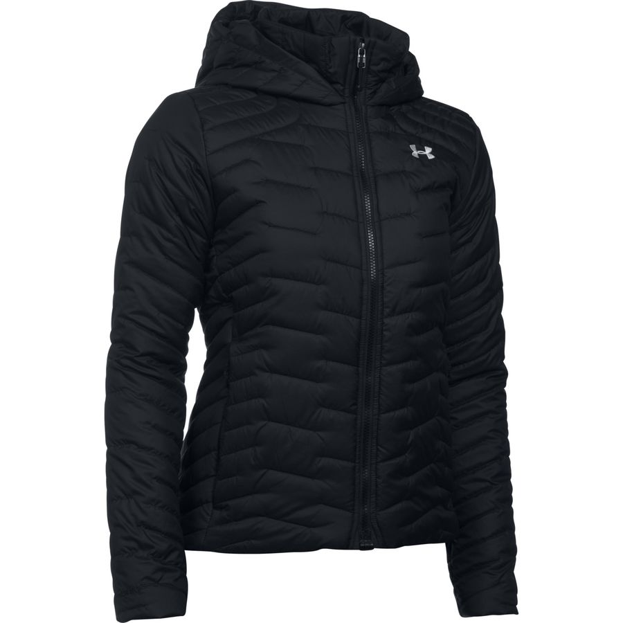 Under Armour Coldgear Reactor Hooded Jacket - Womens