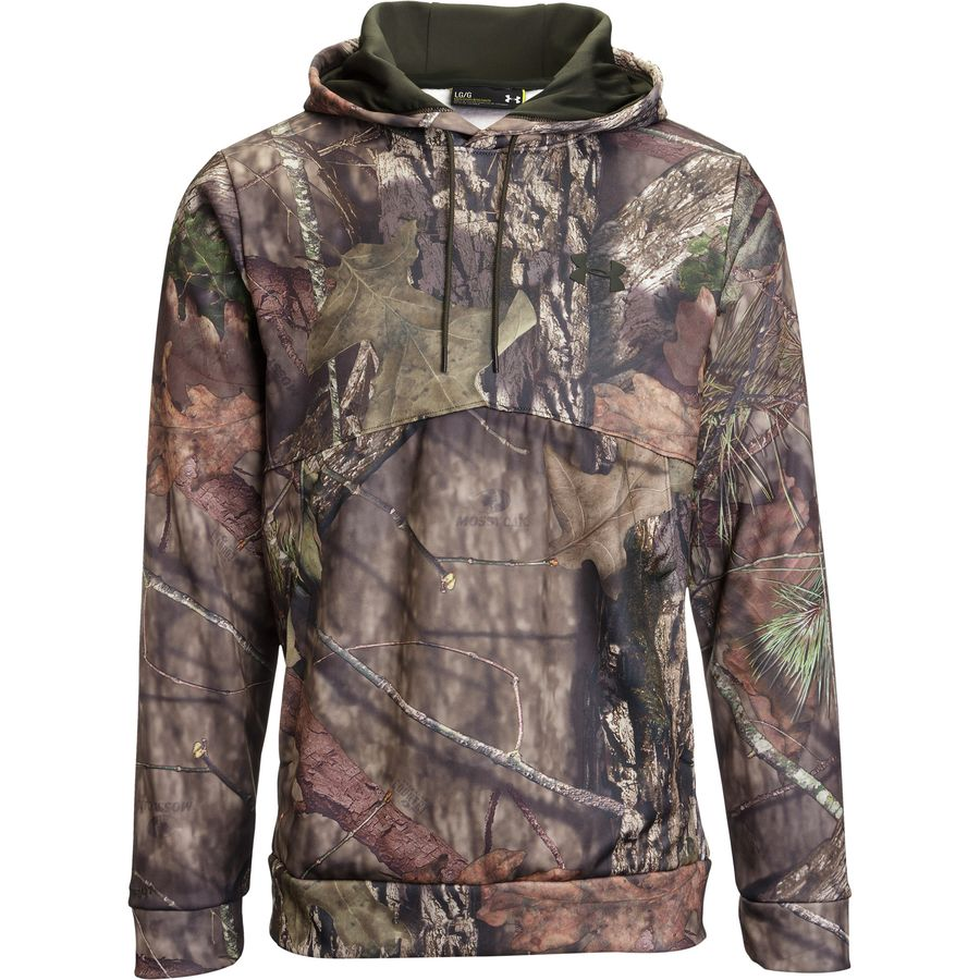Under Armour Franchise Camo Pullover Hoodie - Mens