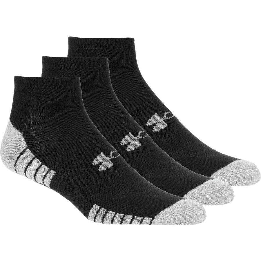 Under Armour Mens Heatgear Tech No Show Socks