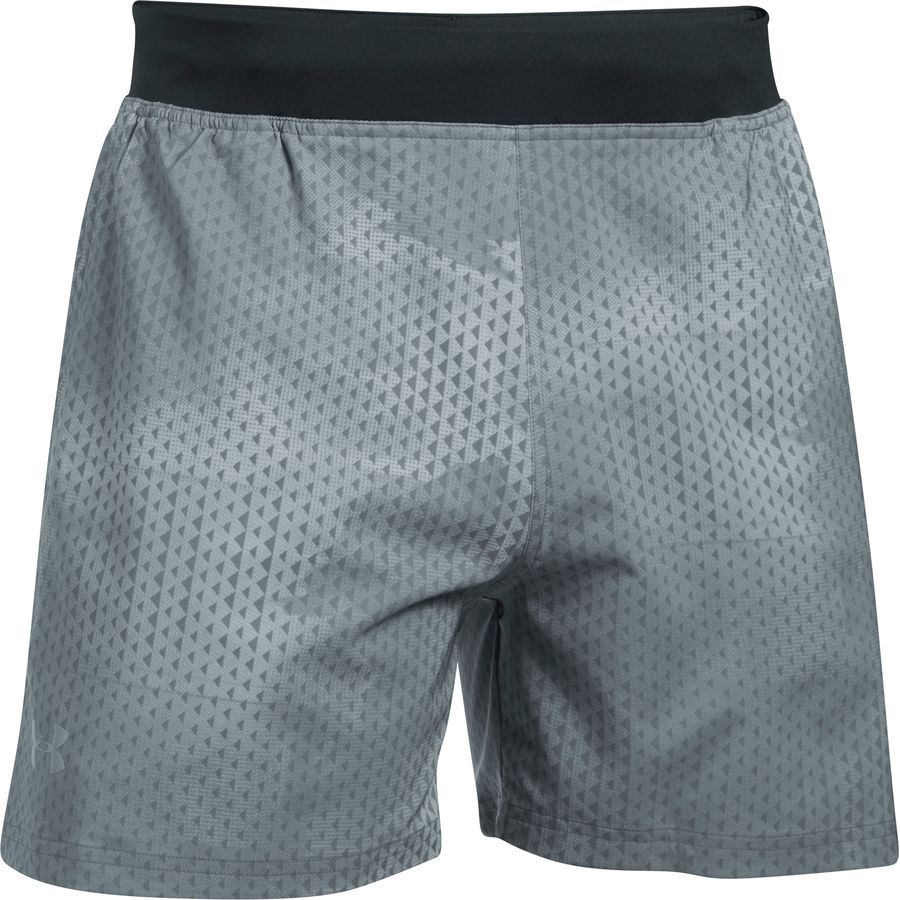 Under Armour SpeedPocket 5in Print Short - Mens
