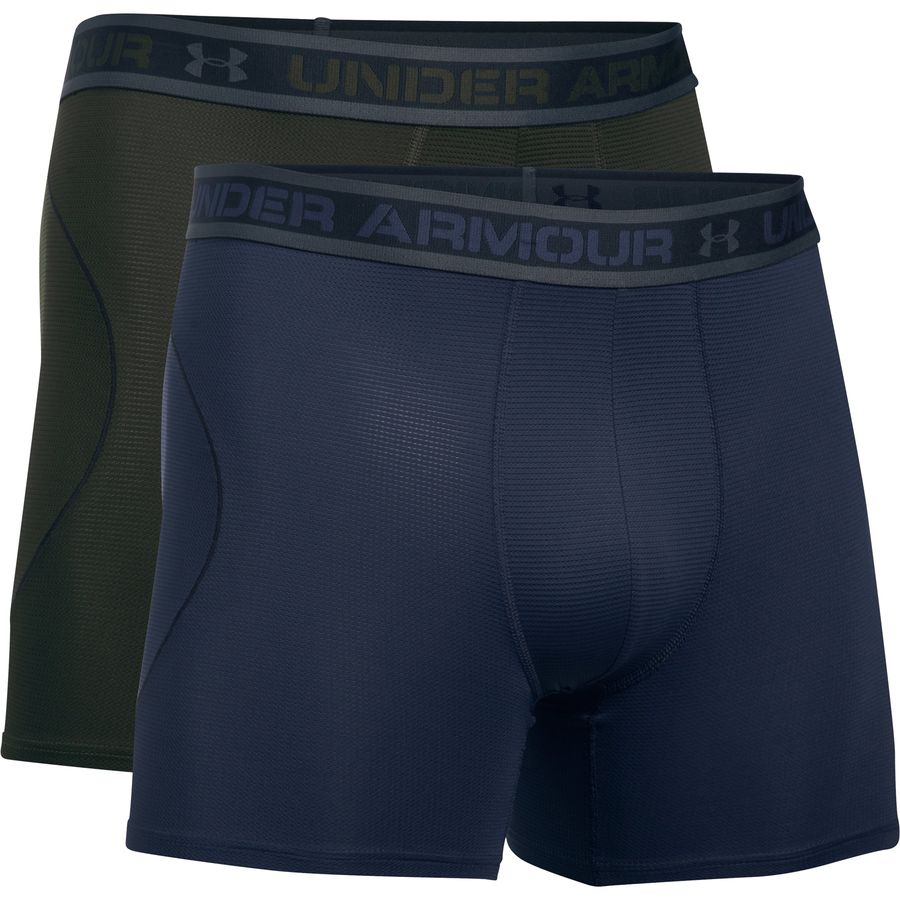 Under Armour Iso Chill 6in Underwear - 2-Pack - Mens